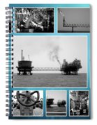 Oil And Gas Industry Spiral Notebook