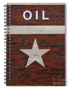 Oil And Texas Star Sign Spiral Notebook