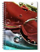 Oil And Water 23 Spiral Notebook