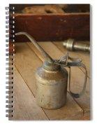 Oil Can Spiral Notebook