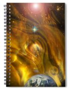 Oil From Heaven Spiral Notebook