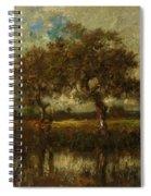Oil Painting Landscape Spiral Notebook