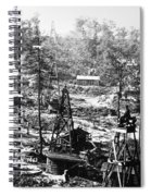 Oil: Pennsylvania, 1863 Spiral Notebook