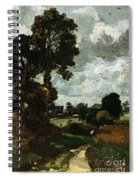 Oil Sketch Of Stoke-by-nayland Spiral Notebook