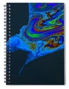 Oil Slick Spiral Notebook