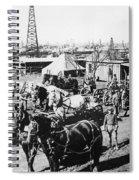 Oil: Texas, 1920 Spiral Notebook