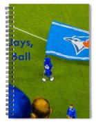 O.k. Blue Jays Let's Play Ball Spiral Notebook