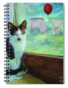 Ok I'll Pose - Painting - By Liane Wright Spiral Notebook