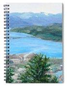 Okanagan Blue Spiral Notebook