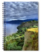 Okanagan Lake On A Thursday Spiral Notebook