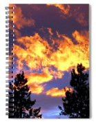 Okanagan Sunset Spiral Notebook