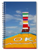 Okay In Thailand Spiral Notebook