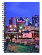 Okc Early Evening Spiral Notebook