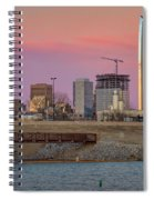 Okc Sunset Spiral Notebook