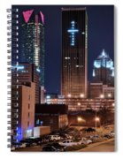 Okc Towers Spiral Notebook