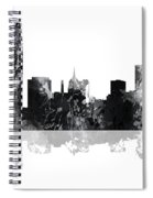 Oklahoma City Oklahoma Skyline Spiral Notebook