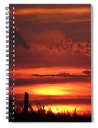 Oklahoma Sky At Daybreak  Spiral Notebook
