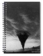 Oklahoma Tornado, C1898 - To License For Professional Use Visit Granger.com Spiral Notebook