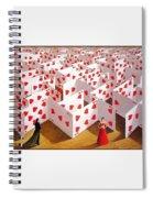 Olbinski Paints Mozart Rafal Olbinski Spiral Notebook
