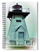 Olcott Lighthouse Spiral Notebook
