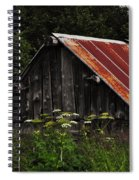 Old Alaskan Shed Spiral Notebook