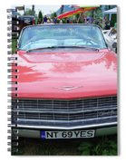 Old American Car Spiral Notebook
