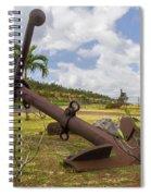 Old Anchor In Kauai Spiral Notebook