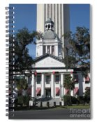 Old And New State Capitol Spiral Notebook
