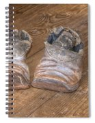 Old And Worn 0047 Spiral Notebook