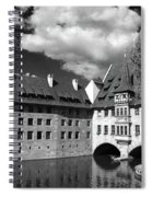 Old Architecture  Nuremberg Spiral Notebook