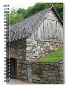 Old Austrian Barn Spiral Notebook