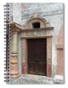 Old Austrian Door Spiral Notebook