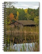 Old Bait Shop On Twin Lake_9626 Spiral Notebook