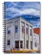 Old Bank Building - Peterstown West Virginia Spiral Notebook