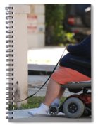 Old Barefoot Women Spiral Notebook