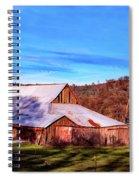 Old Barn In California Spiral Notebook