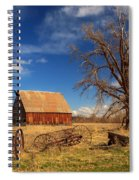 Old Barn In Chester Spiral Notebook