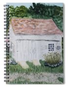 Old Barn In Eastham Ma Spiral Notebook