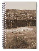 Old Barn In Oregon Spiral Notebook