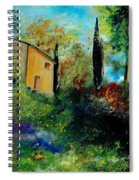 Old Barn In Provence  Spiral Notebook