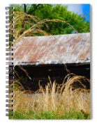 Old Barn In Roxborough Spiral Notebook