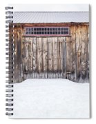 Old Barn Musterfield Farm Spiral Notebook