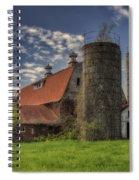 Old Barn Near Sedalia Mo Dsc01900 Spiral Notebook
