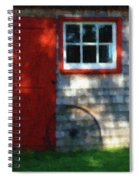 Old Barn New Paint Spiral Notebook