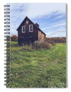 Old Barn Out In A Field Spiral Notebook