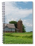 Old Barn Country Scene 4 B Spiral Notebook
