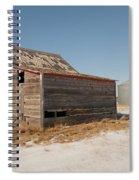 Old Barns And A Grain Bin Spiral Notebook