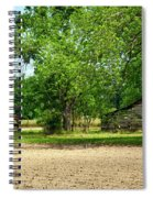 Old Barns In The Woods Spiral Notebook