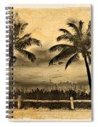 Old Beach Spiral Notebook
