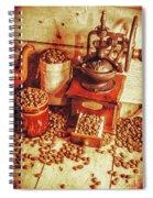 Old Bean Mill Decor. Kitchen Art Spiral Notebook